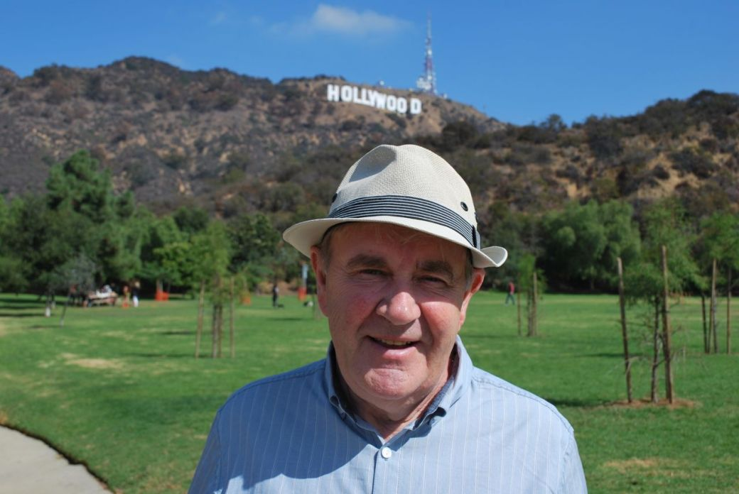 me on a recent visit to Los Angeles