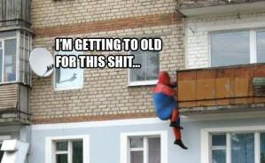 Spiderman-is-getting-too-old