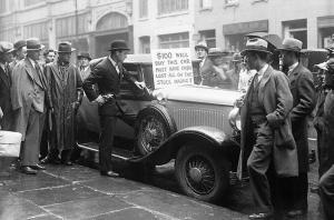 great depression stock crash